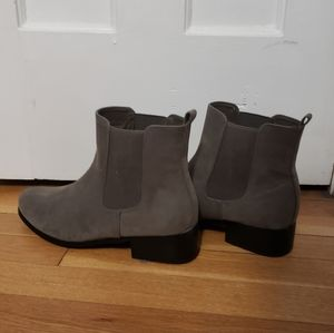 Lane Bryant Suede Booties